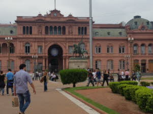 Hous of Government  in Buenos Aires